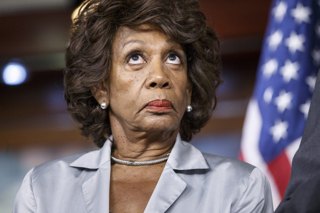 emboldened, maxine waters, impeachment,